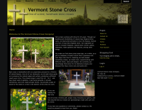 Vermont Stone Cross