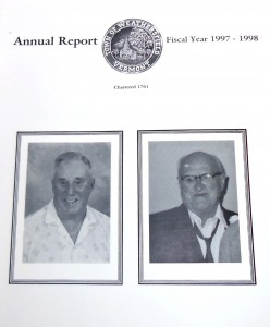 Weathersfield Town Report 1998